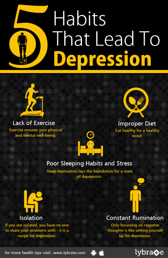5 Habits That Lead To Depression